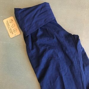 NWT Threads 4 Thoughts Harem pants Navy XS